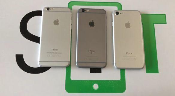 Il nostro confronto tra iPhone 6, iPhone 6S e iPhone 7