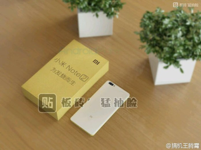 Xiaomi Mi Note 2 | Emergono nuovi render di questo device