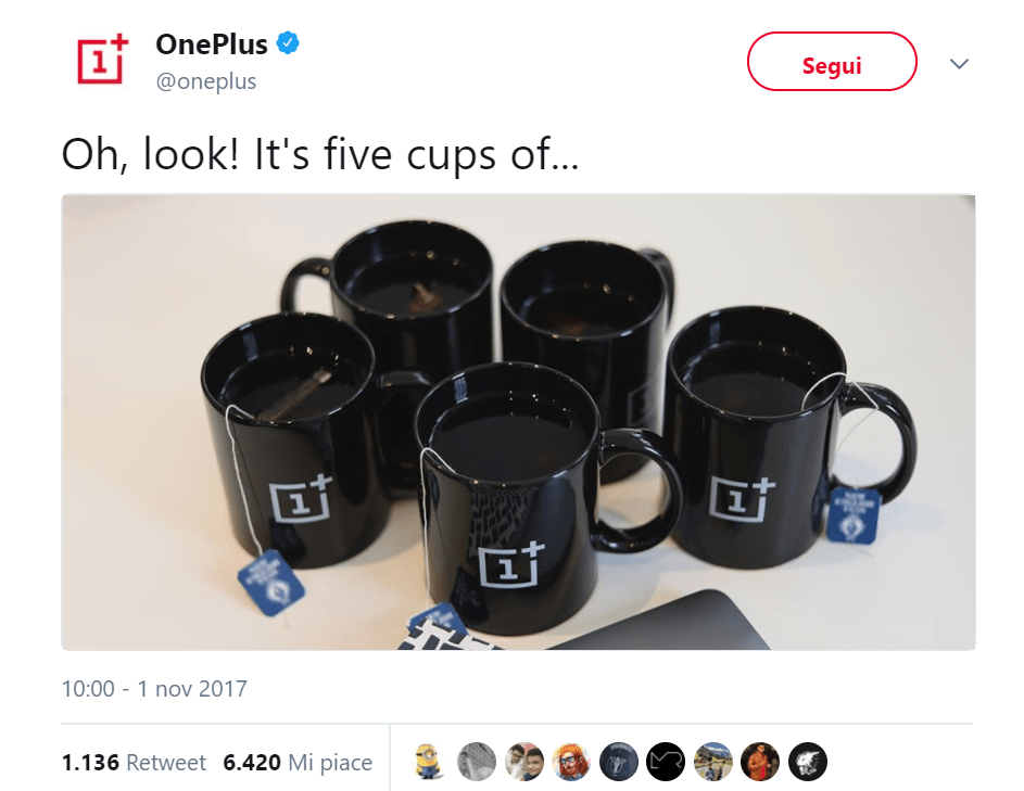 OnePlus 5T: sarà presentato il 16 Novembre