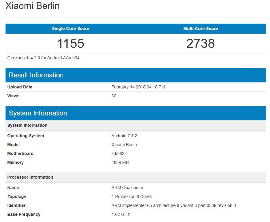 Xiaomi Mi 7: l'analisi del firmware sembra confermare il notch